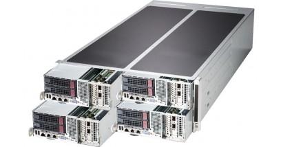 Серверная платформа Supermicro SYS-F627R3-FT 4U/8xLGA2011/iC602/32*DDR3/16x3.5 SATA/VGA/8*GLan/IPMI/4x1280W