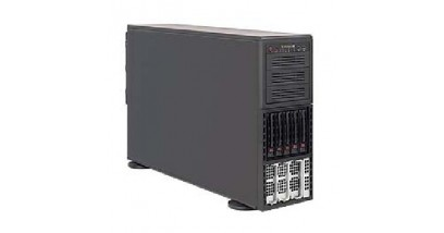 "Серверная платформа Supermicro AS-4042G-6RF 4U 4xOpteron 6000 Series,32*DDR3 ECC Reg,5(up10)*3.5""""HDD,SATA/SAS,IPMI,2xLan, 2x1400W"