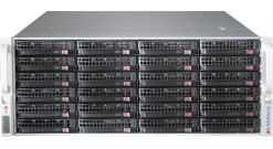 Серверная платформа Supermicro SSG-6048R-E1CR24L 4U 2xLGA2011 Intel C612, 16xDDR..