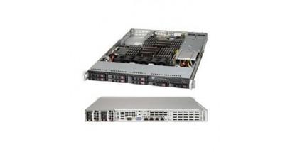 "Серверная платформа Supermicro SYS-1027R-WRF4+ 1U 2xLGA2011 Intel C606, 24xDDR3, 8xHDD 2.5"""", 4xGbE, SAS,IPMI, 2x700W"