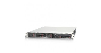 """Серверная платформа Supermicro SYS-1027R-WRFT+ 1U 2xLGA2011, Intel®C606, 24xDDR3, 8xHDD 2.5"""""""", 2xGbE, 2x10GbE, 2x700W"""