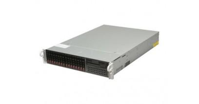 """Серверная платформа Supermicro SYS-2027R-WRF 2U 2xLGA2011 Intel C602, 16xDDR3, 16x2.5""""""""HDD, 2xGbE, IPMI, 2x740W"""