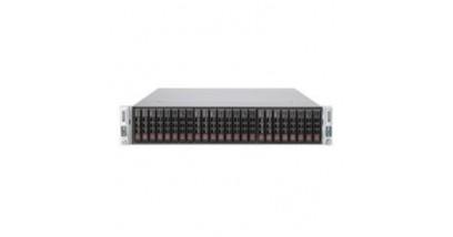Серверная платформа Supermicro SYS-2027TR-D70RF 2U (2 Nodes) 2xLGA2011 Intel C602 Chipset, LSI 2008 SAS, SATA, 2x1620W