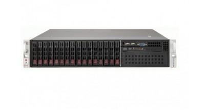 """Серверная платформа Supermicro SYS-2027TR-HTRF 2U (4 Nodes) 2xLGA2011 8xDDR3, 6x2.5""""""""HDD, 2xGbE,IPMI, PCI-E LP 2x1620W"""