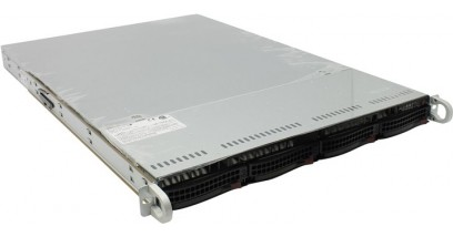Серверная платформа Supermicro SYS-5017R-WRF; 1U, 500W; Single E5-2600/E5-1600, Socket R - s2011; Intel C602, UpTo 25