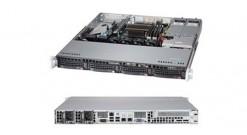 """Серверная платформа Supermicro SYS-5018D-MTRF 1U LGA1150 C224, 4DIMM upto 32Gb,4x3.5""""""""HDD, PCI-Ex16,2xGbE,IPMI 2x400W"""