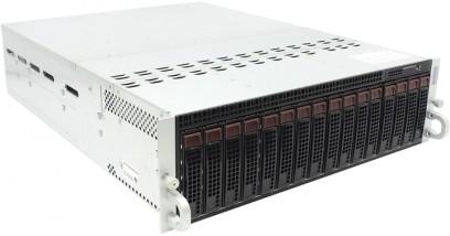 Серверная платформа Supermicro SYS-5037MR-H8TRF 3U (8 Nodes) 1xLGA2011 4xDDR3, 2xHDD, 2xGbE, IPMI 2x1680W