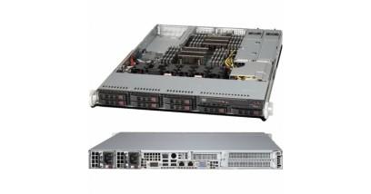 """Серверная платформа Supermicro SYS-6017R-NTF 1U 2xLGA2011 Intel C602, 16xDDR3, 4xHDD 3.5"""""""", 2xGbE, IPMI 600W"""