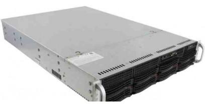 "Серверная платформа Supermicro SYS-6027R-N3RF 2U 2xLGA2011 Intel C606, 16xDDR3, 8xHDD 3.5"""", 2xGbE 2x740W"