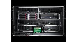 Шасси HP BladeSystem c3000 Sin-Phase 6U Platinum Enclosure (up to 8 c-class Blad..