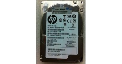Жесткий диск HPE 900GB 2.5'' (SFF) SAS 6G 10K SC ENT HDD (652589-B21)