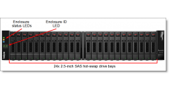 Lenovo ThinkSystem DS2200 SFF FC/iSCSI Dual Controller Unit..