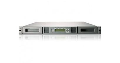 Ленточный автозагрузчик HP StorageWorks Ultrium 6250 1/8 G2 Ext. SAS Autoloader (1U; incl.Yosemite Server Backup Basic, brcd rdr, 2m SFF8470-SFF8088 SAS cbl)