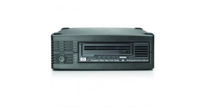 Ленточный привод HP StorageWorks Ultrium 3000 SAS Tape Drive, Ext. (Ultr.1,5/3TB; incl. Yosemite Server Backup Basic; 1data ctr, ext SAS cbl SFF8088/SFF8088) analog EH958A#ABB