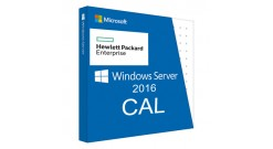 Лицензия HPE Microsoft Windows Server 2016 1-User CAL..
