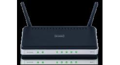 Маршрутизатор D-Link DIR-615S/A Беспроводный интернет-роутер 802.11n, 4x10/100Mb..