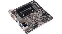 Материнская плата ASRock J3160DC-ITX [FCBGA1170, нет (SoC), 2xDDR3, DDR3L-1600 М..
