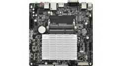 Материнская плата ASRock J3160TM-ITX [FCBGA1170, нет (SoC), 2xDDR3, DDR3L-1600 М..