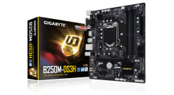 Материнская плата Gigabyte GA-B250M-DS3H / Intel B250 / LGA1151 / 4xDDR4 (64GB) ..