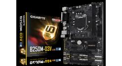 Материнская плата Gigabyte GA-B250M-D3V Soc-1151 Intel B250 2xDDR4 mATX AC`97 8c..