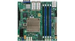 Материнская плата Supermicro MBD-A2SDI-8C+-HLN4F-O Soc-1310 uATX 4xDDR4 12xSATAII iC3000 4xGgbEth Ret