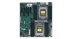 Материнская плата Supermicro MBD-H11DSI-O - E-ATX, 2xSP3, Dual AMD EPYC, 16xDDR4..