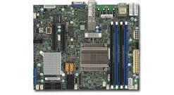 Материнская плата Supermicro MBD-X10SDV-4C-7TP4F-O Intel Xeon D-1518, FCBGA 1667, Up to 128GB ECC RDIMM DDR4 2133MHz, 64GB ECC/non-ECC UDIMM, 2 10G SFP+, 2 GbE LAN, 4 SATA3 (6Gbps), 12VDC