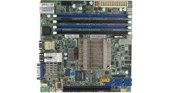 Материнская плата Supermicro MBD-X10SDV-8C-TLN4F-O, Single SKT Xeon D-1541 SoC, ..