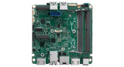 Материнская плата для Мини ПК Intel BLKNUC7i3DNBE, Intel i3-7100U, 2.4 GHz, 1xDDR4 SODIMM (up to 2133MHz/32Gb), VGA Intel HD Graphics 620 (2xHDMI 4K), 4xUSB3.0, 1xRS-232, GBL, no WiFi, 958795