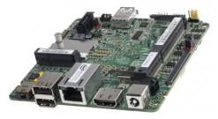 Материнская плата для Мини ПК Intel DE3815TYBE, Intel Atom E3815, 1.46 GHz, 1xDDR3 SODIMM (up to 1066MHz/8Gb), VGA Intel HD Graphics (1xHDMI, 1xVGA), 1xUSB3.0, 2xUSB2.0, 2xRS-232, 1x2.5HDD, GBL, noWiFi, 933136