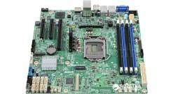 Материнская платв Intel DBS1200SPLR (E3-1200v5/v6, Socket-1151, C236, uATX, 4xDD..