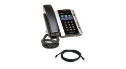 Microsoft Skype for Business/Lync edition VVX 500 12-line Desktop Phone with HD ..