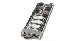"Микро-блейд сервер Supermicro MBI-6418A-T5H. 4x Atom C2550 4-Core, 2xDDR3 ECC, 1x2.5""""HDD/SSD"