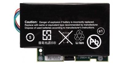 Модуль LSI LSIiBBU07 (LSI00161) Battery Backup Unit для MegaRAID SAS 8880EM2, 9260-4i, 9260-8i, 9260DE-8i, 9280-8e, 9280DE-8e, 1350 mAH, 3.7V