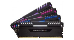 Модуль памяти CORSAIR DDR4 4x16Gb 2666MHz Corsair CMR64GX4M4A2666C16 RTL PC4-213..