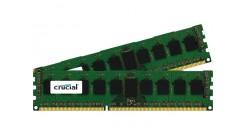 Модуль памяти Crucial 16GB DDR3 Kit (8GBx2) 1866MHz PC3-14900 UDIMM ECC CL13 (CT..