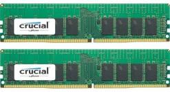 Модуль памяти Crucial 32GB DDR4 Kit (16GBx2) 2400MHz PC4-19200 UDIMM ECC CL17 DR..