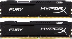 Модуль памяти Kingston 16GB 2133MHz DDR4 Non-ECC CL14 DIMM (Kit of 2)HyperX FURY..