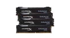 Модуль памяти Kingston 16GB 2400MHz DDR4 CL12 DIMM (Kit of 4) XMP HyperX Savage ..