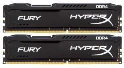 Модуль памяти Kingston 16GB 2400MHz DDR4 CL15 DIMM (Kit of 2) HyperX FURY Black..
