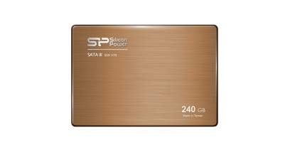 "Накопитель SSD Silicon Power 240GB V70 Silicon Power 2,5"""" SATA III 557/507 MB/s seq/w 286MB/s SF2281 Toggle/ Sync"