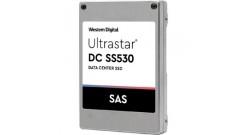 Накопитель SSD HGST 1.6TB SS530 SAS 2.5'' Ultrastar ТLC DWPD 3 15mm, (WUSTR6416A..