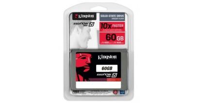 """Накопитель SSD Kingston 60GB SSDNow V300, 2.5"""""""", SATA, [R/W - 450/400 MB/s]"""