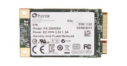 Накопитель SSD Plextor 256GB PX-256M5M mSATA no bracket RTL mSATA 6Gb/s, r/w 520/200 Mb/s, rand.r/w 71000/51000 IOPS, 256MB cache, MLC