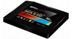 """Накопитель SSD Silicon Power 60GB SATA SP060GBSS3V55S25 V55 PS3108 9mm 3,5"""""""" adp"""