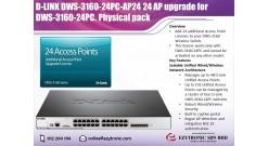 Обновление 24 точек доступа для DWS-3160-24PC D-Link Business Wireless Plus L - ..