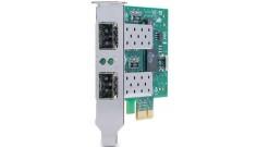 Сетевой адаптер Allied Telesis AT-2911SFP/2-001 PCI-Express Dual Port Adapter: 2..