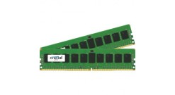 Модуль памяти Crucial 16GB DDR4 Kit (2x8GB) 2133MHz PC4-17000 UDIMM ECC CL15, 1...