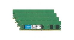 Модуль памяти Crucial 16GB DDR4 Kit (4x4GB) 2133MHz PC4-17000 UDIMM ECC CL15, 1...
