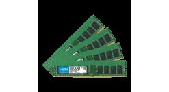 Модуль памяти Crucial 16GB DDR4 2400 DIMM Server Memory CT4K4G4WFS824A ECC, CL17..